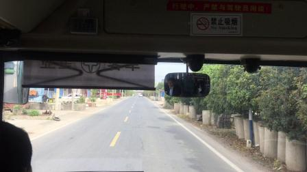 奶咖拍摄 - 331路 金坛镇村公交 红色电显亚星客车 西阳站→荣炳建筑公司