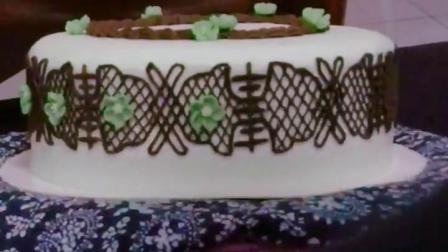 【如懿传蛋糕图】这是最后的成品图,下一期唐嫣 撒糖了,怎能做过这位甜美公主,免费请你们吃古风 蛋糕