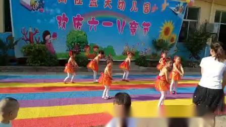 2019年高佐蓝天幼儿园六一演出中班舞蹈动感女孩