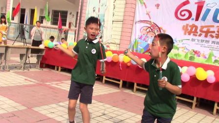游城乡云峰小学六一儿童节-绳艺串烧