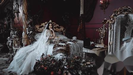 绯系视觉作品:成都华尔道夫「美女与野兽」婚礼预告