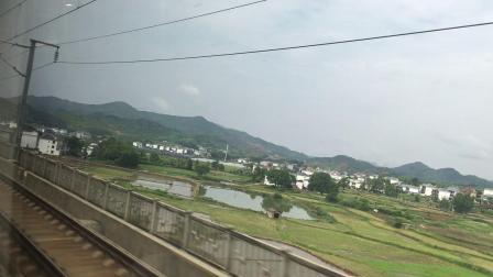 乘坐G1371次列车去凯里南.5 (沪昆高铁运转 上饶-鹰潭北区间)