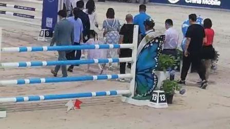 元邦物流董事长廖强受邀参加成都国际马术比赛并参观赛场