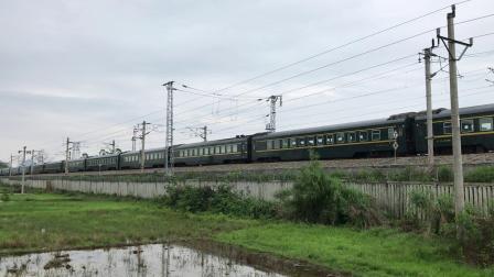 『HXD3D+25T』Z335通过衡柳线二塘站南端