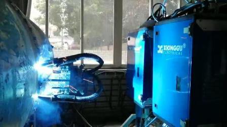 熊谷管道焊机DPS-500P升级适应X100焊丝
