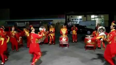 雄安新区昝岗镇张神堂威风鼓乐队《八面威风》