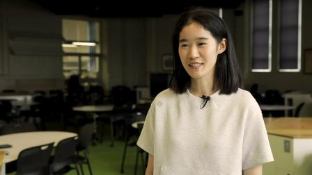 Chinese student Huang Wei - Program Specific