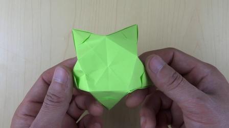 手工折纸 儿童折纸 折纸教程 如何折出一个漂亮的五角星收纳盒