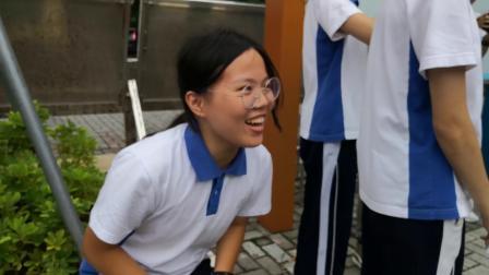 趣味运动会之引体向上20190529   深圳南山外国语学校高新中学