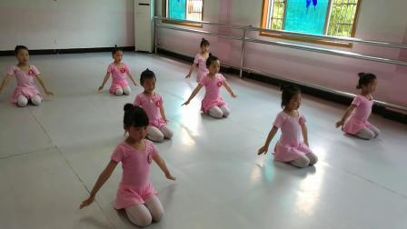 美美舞蹈少儿民族舞B班考级舞蹈《饼干圆圆》2019.5.26