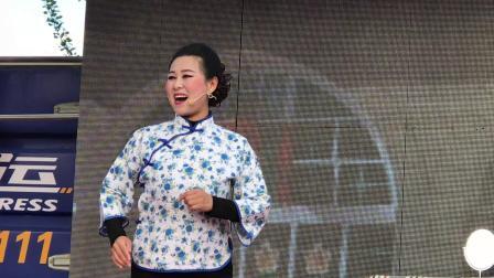 河曲县李广伟二人台有限公司下乡演出《卖油》