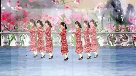 山西素梅广场舞《人这一辈子图个啥》