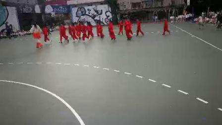 上海和田路小学庆祝六一儿童节!演练陈氏太极拳,教练马春玲15093734588