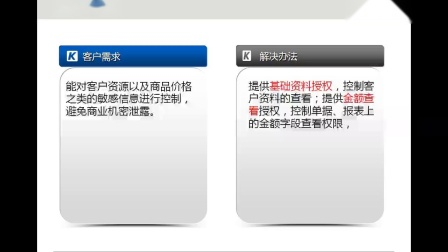 金蝶KIS商贸版应用案例培训_销售敏感信息的控制