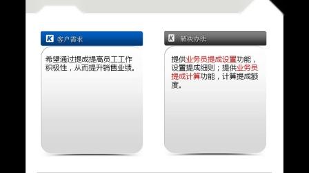 金蝶KIS商贸版应用案例培训_业务员提成