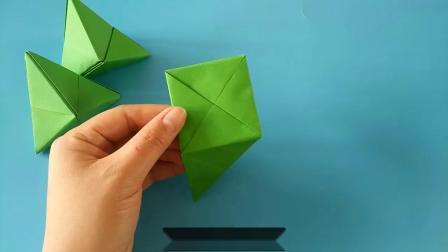 马上端午节啦,教你一款简单创意的折纸粽子,幼儿园亲子手工DIY