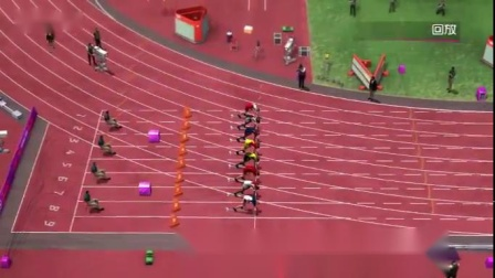 伦敦奥运会100米决赛,中国队9.48夺冠