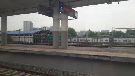 北京地铁拆分前的13号线外环列车进霍营站