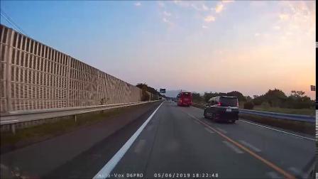 日本九州高速公路 下关→福冈 行车记录*2019