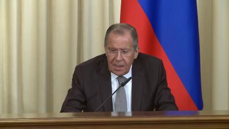 Пресс-конференция Лаврова и Родригеса, Москва [2019.05.27]