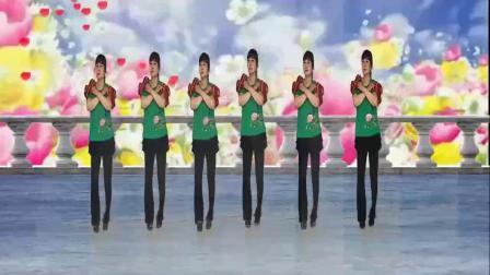 山西素梅广场舞《最美的中国唱最美的歌》