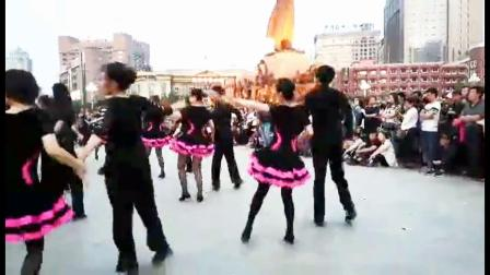 集体舞-沈阳中山广场秋冬之舞文化节表演