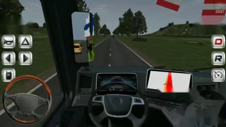 队长试玩:欧洲卡车模拟手机版第一期