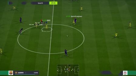 渝联FIFA OL4 2v2无规则模式(覃岭、Z)2019-6-2