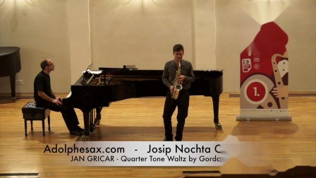 Josip Nochta Competition - JAN GRICAR - Quarter Tone Waltz by Gordan Tudor