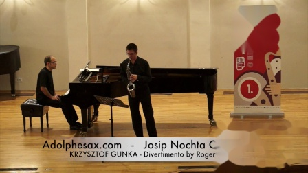 JOSIP NOCHTA COMPETITION - KRZYSZTOF GUNKA - Divertimento by Roger Boutry