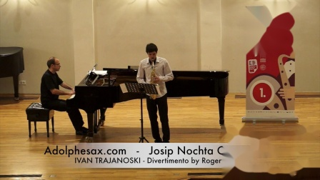 JOSIP NOCHTA COMPETITION - IVAN TRAJANOSKI - Divertimento by Roger Boutry