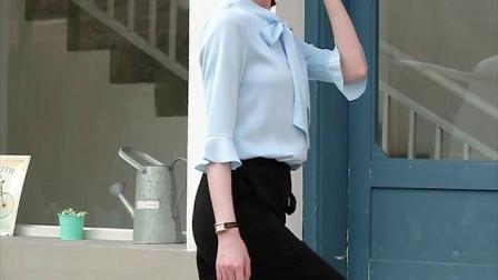 "PUN""FE_朴诺菲夏季短袖衬衫女士新款职业装时尚中袖衬衣工装套装-tmall.com天猫"