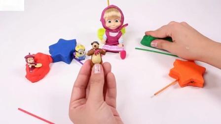 惊喜通过在西班牙的玩具视频