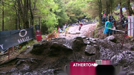 UCI Mountain Bike World Cup 2019 Gee Atherton's run – Fort William