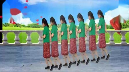 山西素梅广场舞《妹妹山丹花》