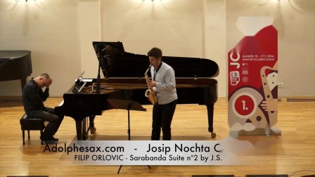 JOSIP NOCHTA COMPETITION - FILIP ORLOVIC - Sarabanda Suite nº2 by J.S. Bach