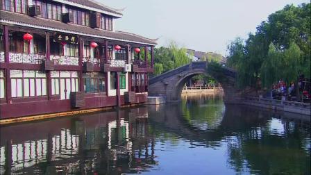 江南水乡 历史古镇 乌镇 徽派建筑 乡村 实拍视频素材