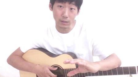 第003课,吉他的6根空弦音分别是什么——跟着女儿学吉他。