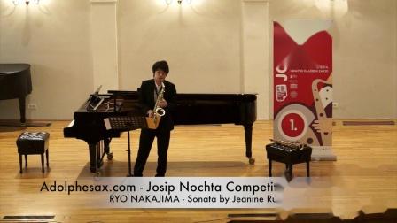 Adolphesax.com - Josip Nochta - RYO NAKAJIMA - Sonata by Jeanine Rueff