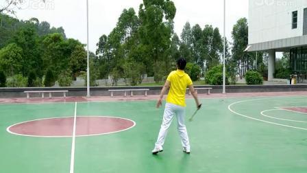 8、柔力球第九套教学 第5节:背翻缠绕
