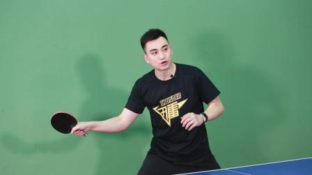 【乒乓找教练】266 为什么说练正手要先撞击再摩擦?