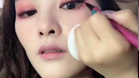 合肥化妆培训班鑫风尚化妆学校课堂作品