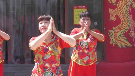 《石庄舞蹈队表演舞蹈》刘记秘制熏鸡店开业大吉文艺演出