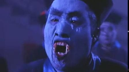 我在林正英僵尸恐怖片《新僵尸先生》国语截了一段小视频