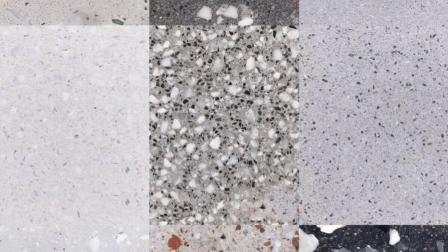 马卡龙色系无缝水磨石