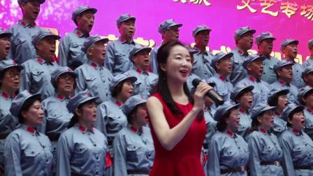 1.大合唱:《天下乡亲》丹东教师合唱团。