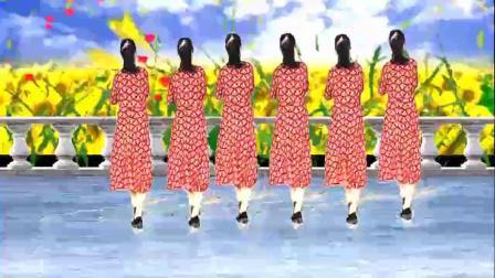 山西素梅广场舞《一生无悔》