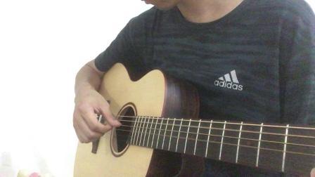 第002课,真正的零基础学吉他——跟着女儿学吉他。