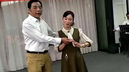 甬剧(啼笑因缘)选段,表演者(朱霞珍,陆伟福)