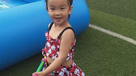 郭芈诺,六一儿童节快乐(泼水节活动)